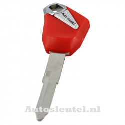Kawasaki motorsleutel rood - sleutelbaard punt (model 2)