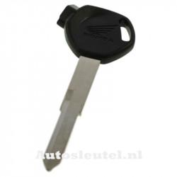 Honda motorsleutel zwart - sleutelbaard punt met inkeping rechts