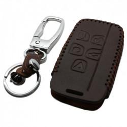 Jaguar 5-knops smart key sleutelhoes - bruin