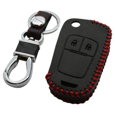 Chevrolet 2-knops klapsleutel sleutelhoes - zwart