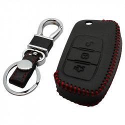 Ford 3-knops smart key sleutelhoes - zwart (model 3)