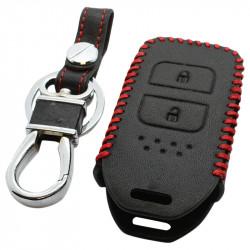 Honda 2-knops afstandsbediening sleutelhoes - zwart