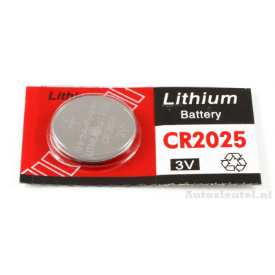 Knoopcelbatterij CR2025