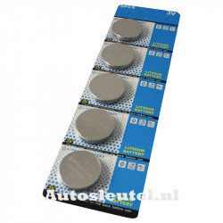 Knoopcelbatterij CR2450 -  5 stuks