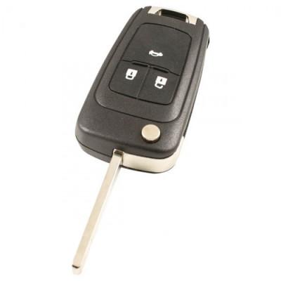 Chevrolet 3-knops klapsleutel - sleutelbaard recht (model 1)
