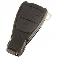 Mercedes 2-knops Smart Key Behuizing (model 2)