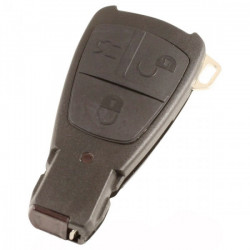 Mercedes Smart Key 3-knops sleutelbehuizing (model 2)