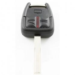 Opel 3-knops sleutelbehuizing - sleutelbaard recht