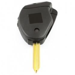 Peugeot 2-knops klapsleutel - sleutelbaard kruisvormig