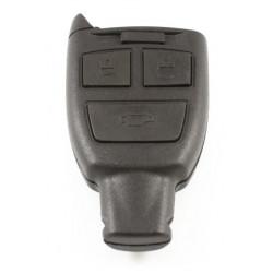 Saab 3-knops Smart Key Behuizing - zonder sleutelbaard