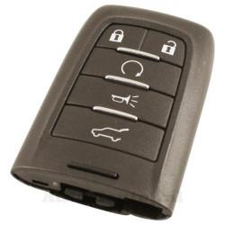 Saab 5-knops smart key met elektronica 315MHZ- zonder sleutelbaard