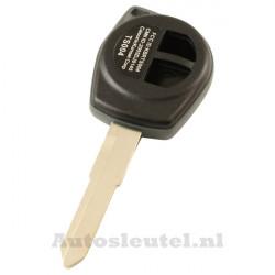 Subaru 2-knops sleutelbehuizing - sleutelbaard punt inkeping rechts