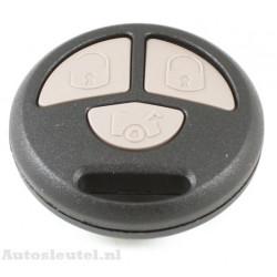 Toyota 3-knops afstandsbediening (rond)