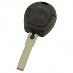 Volkswagen 2-knops sleutelbehuizing - sleutelbaard recht