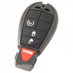 Chrysler 3-knops smart key behuizing met paniek knop